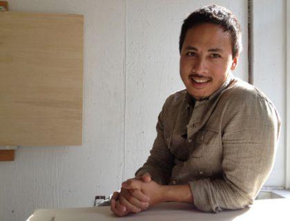 Rick Leong, Pope artist in residence 2012