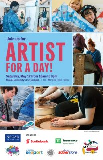 NSCAD Artist for a day
