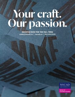 NSCAD Fall Courses