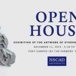 The open house takes place at NSCAD's Port Campus (1107 Marginal Rd, Halifax), from 5:30-7 p.m.