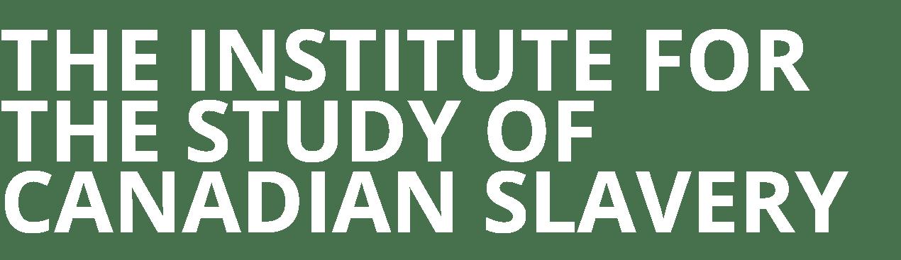 slavery-institute